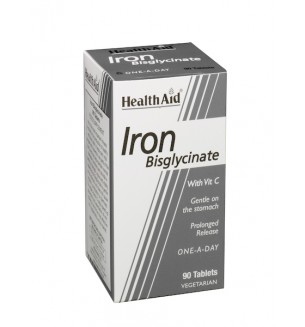 Health Aid Iron Bisglycinate 90tab Economy