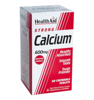 Health Aid Strong Calcium 600mg 60tab