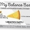 Power Healthy & Tasty My Balance Bar Lemon pie