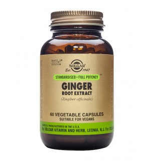 Solgar SFP Ginger Root Extract 60vcap